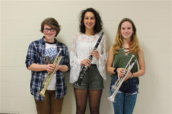 Senior High Area All-State Band Members Named